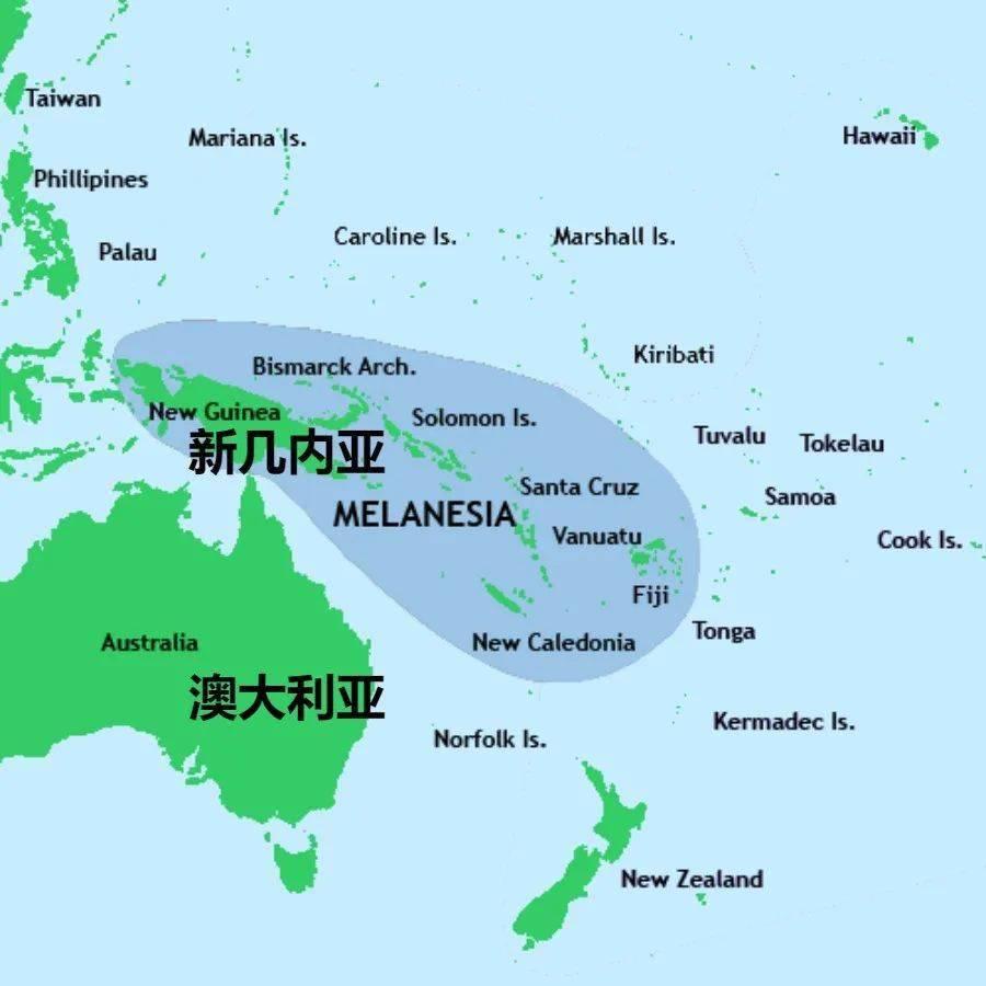 新几内亚岛 马达加斯加