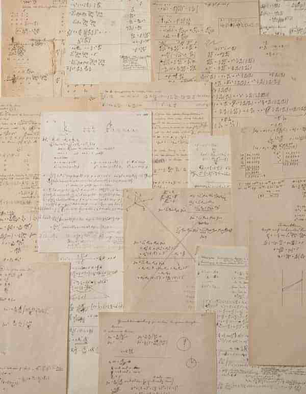 手稿|爱因斯坦手写相对论计算稿将被拍卖,估价高达300万欧元