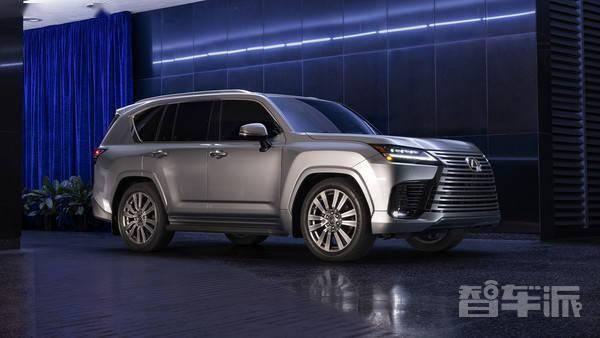 雷克萨斯全新LX 600正式发布 首次提供四座版车型