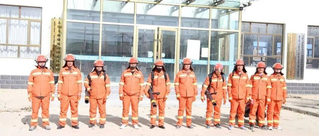 骆驼山镇开展防火应急演练